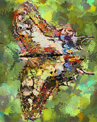 House Pet Digital Art - Butterfly 4 by Yury Malkov
