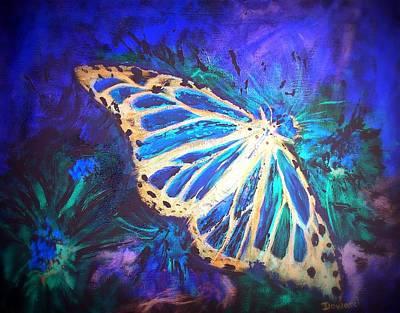 Butterfly Beauty 2 Art Print by Raymond Doward