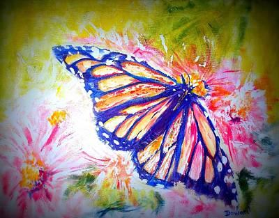 Butterfly Beauty 3 Art Print by Raymond Doward
