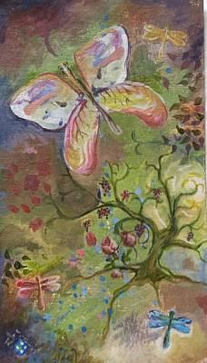 Butterfly Daydream Art Print by Elizabeth Clary-Boyd