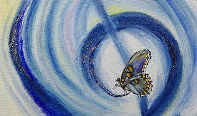 Painting - Butterfly by Draia Coralia