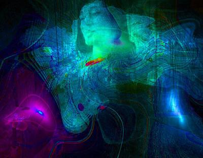 Gaia Digital Art - Butterfly Dream by Jimi Lewin