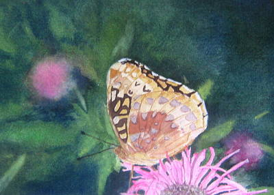 Butterfly I Original by Anita Riemen