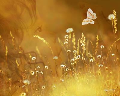 Butterfly Kiss Art Print by Torie Tiffany