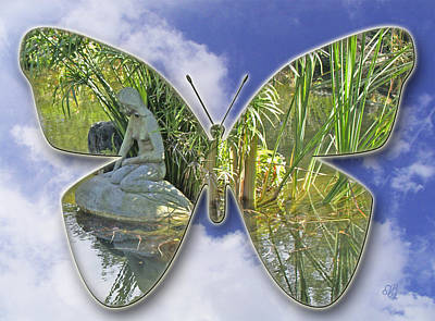 Photograph - Butterfly Landscape by Barbara Middleton
