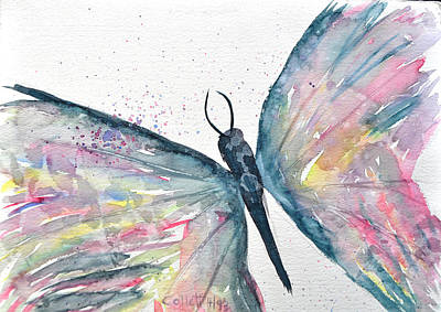Painting - Butterfly by Mickey Krause
