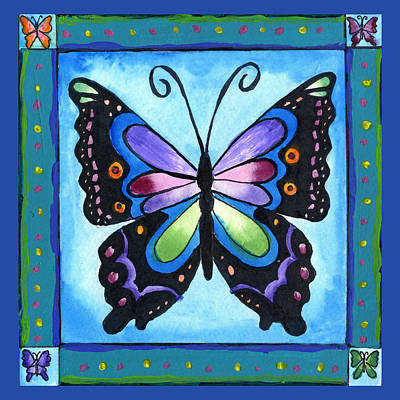 Painting - Butterfly by Pamela  Corwin