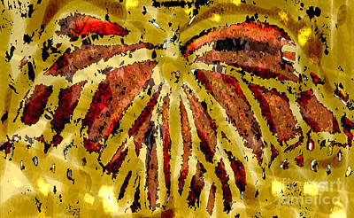 Mixed Media - Butterfly by Patricia Januszkiewicz