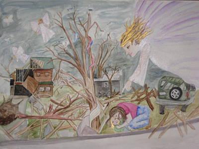 Butterfly People Art Print by DJ Bates