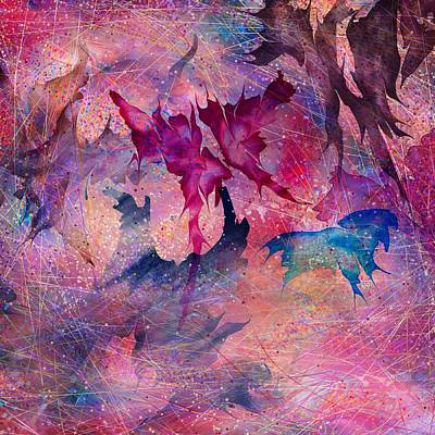 Butterfly Art Print by Rachel Christine Nowicki