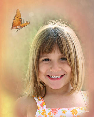 Photograph - Butterfly Smile by Diana Haronis