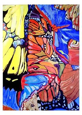 Painting - Butterfly Wings by Sandra Lira