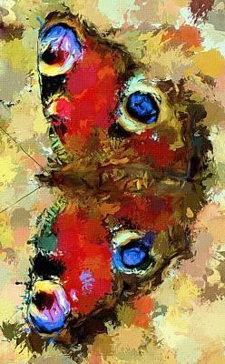 House Pet Digital Art - Butterfly by Yury Malkov
