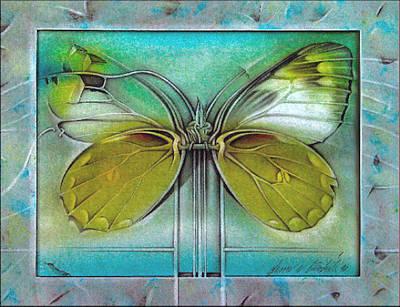 Pastel - Butterflycomp 1991 by Glenn Bautista