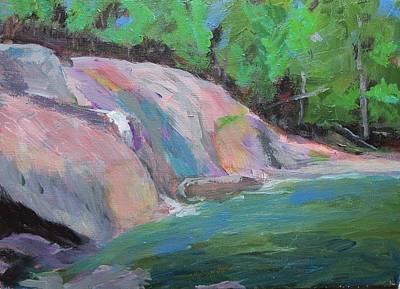 Buttermilk Falls Original by Bill Revill
