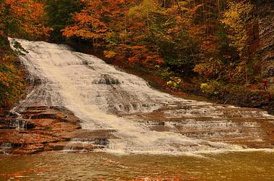 Photograph - Buttermilk Falls Sate Park New York  by Puzzles Shum
