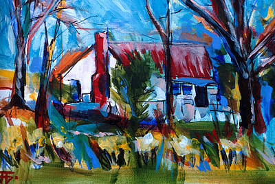 Painting - Buttlers House by John Jr Gholson