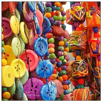 Jewelry Photograph - Buttons And Beads. Jewelry At The by Polly Rhodes