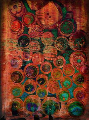 Buttons Art Print by Ann Powell