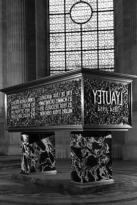 Bw France Paris Marshal's Lyautey Tomb 1970s Art Print by Issame Saidi