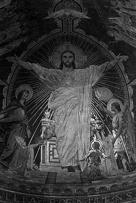 Bw France Paris Sacre Coeur Basilica Dome Jesus 1970s Original by Issame Saidi