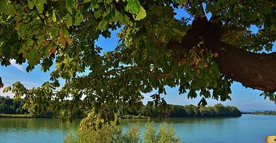 Saone River Photograph - By The River by Dany Lison