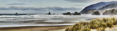 By The Sea - Seaside Oregon State  Art Print