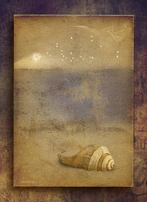 By The Sea Print by Ron Jones