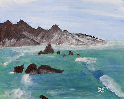 Painting - By The Sea by Swabby Soileau