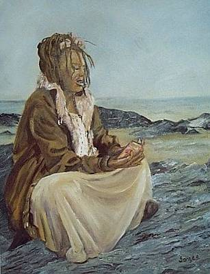 Painting - By The Shore by Joyce Reid