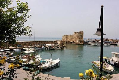 Photograph - Byblos Waterfront by Tia Anderson-Esguerra