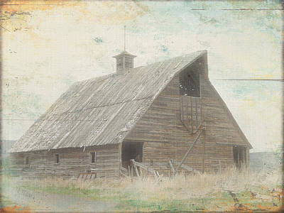 Photograph - Bygone Days Barn 2 by Cindy Wright