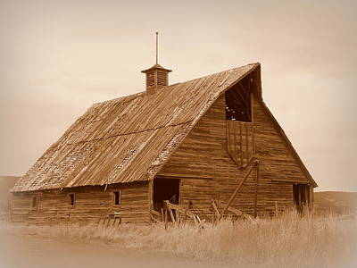Photograph - Bygone Days Barn by Cindy Wright