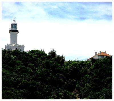 Photograph - Byron Bay Lighthouse by Keith Bassolino