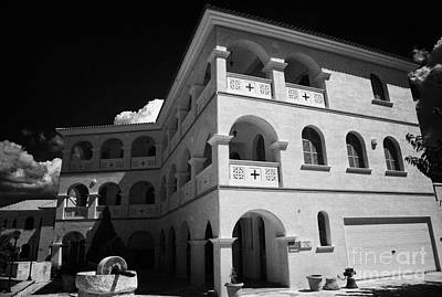 Byzantine Museum And Holy Bishopric Of Arsenoe In Peristerona Village Republic Of Cyprus Europe Art Print by Joe Fox