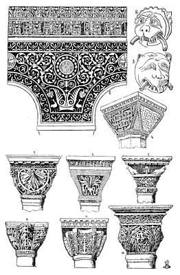 Byzantine Ornament Art Print by Granger