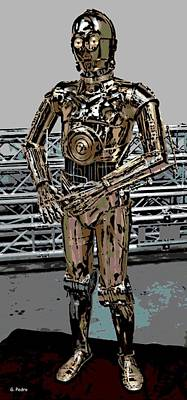 Photograph - C3po by George Pedro