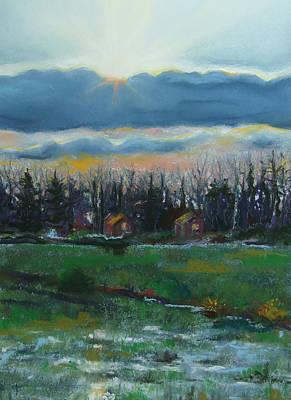 Cabanes Dans Les Bois Original by Marie-Claire Dole