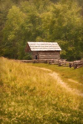 Edward Hopper - Cabin by Cindy Haggerty