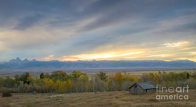Photograph - Cabin With A View by Idaho Scenic Images Linda Lantzy