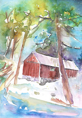 Painting - Cabine In The Troodos Mountains by Miki De Goodaboom
