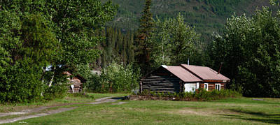 Photograph - Cabins - Wiseman by Gary Rose