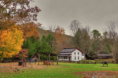Cable Mill House Art Print by Charles Warren