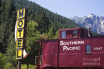 Photograph - Caboose Motel by Jim And Emily Bush