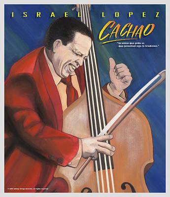 Cachao  Art Print by John Crespo Estrella