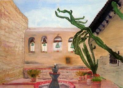Painting - Cactus Flower by Brent  Harris