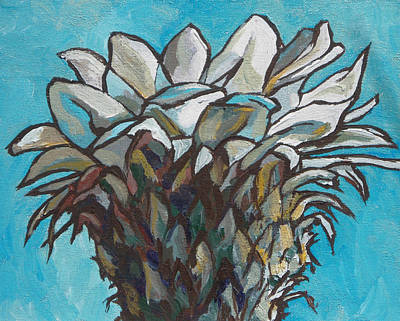 Painting - Cactus Flower by Sandy Tracey
