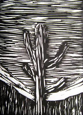 Cactus Art Print by Marita McVeigh