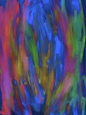 Cactus Trance Art Print