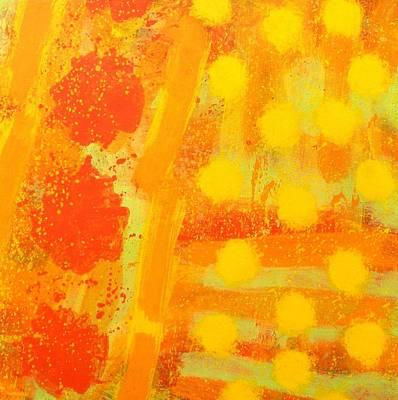 Abstract Jazz Painting - Cadence by John  Nolan